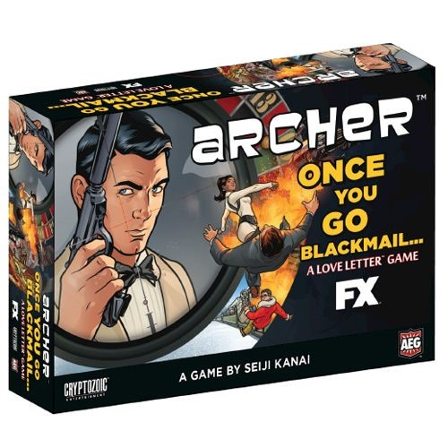 Love Letter Card Game Archer Boxed Edition GBP899