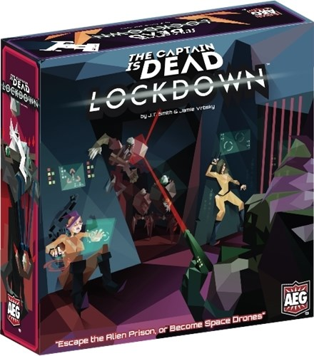 The Captain Is Dead Board Game: Lockdown Expansion