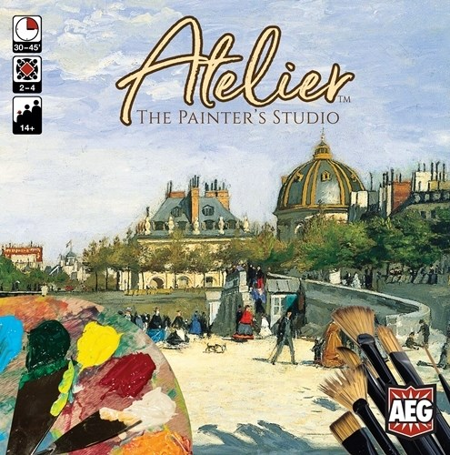 Atelier Board Game: The Painter's Studio
