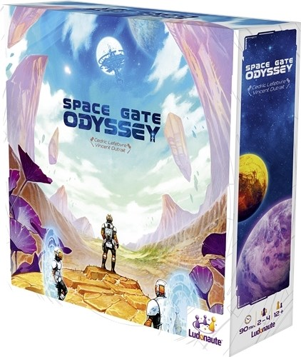 Space Gate Odyssey Board Game