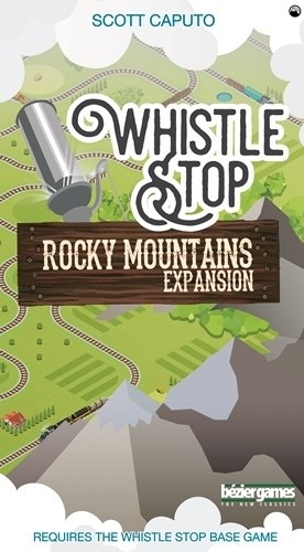 Whistle Stop Board Game: Rocky Mountains Expansion
