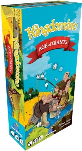 Kingdomino Board Game: Age Of Giants Expansion