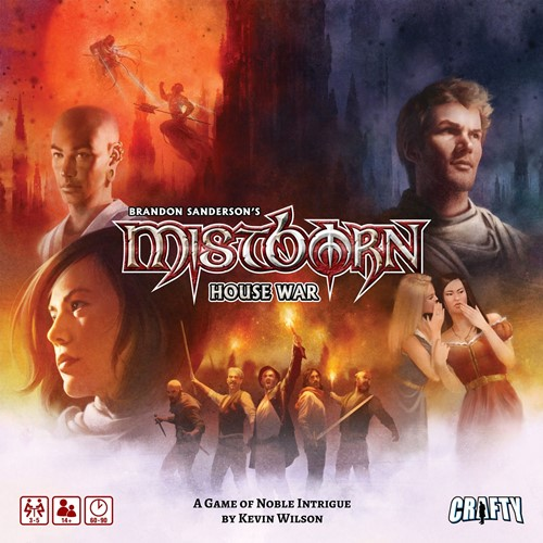 Mistborn: House War Board Game