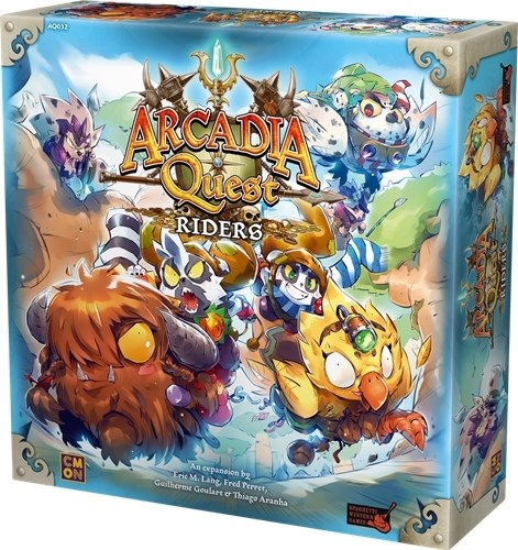 Arcadia Quest Board Game: Riders Expansion
