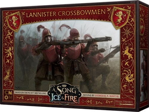 Song Of Ice And Fire Board Game: Lannister Crossbowmen Expansion