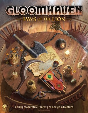 Gloomhaven Board Game: Jaws Of The Lion