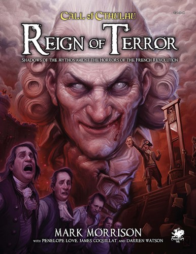 Call of Cthulhu RPG: 7th Edition Reign Of Terror