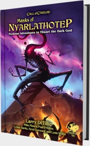 Call of Cthulhu RPG: 7th Edition Masks Of Nyarlathotep: Slip Case Edition