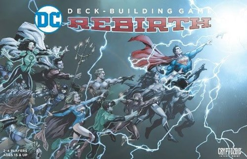 DC Comics Deck Building Card Game: Rebirth