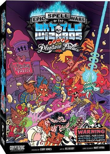 Epic Spell Wars Of The Battle Wizards Card Game: Panic At The Pleasure Palace