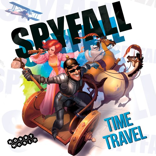 Spyfall Card Game: Time Travel Edition