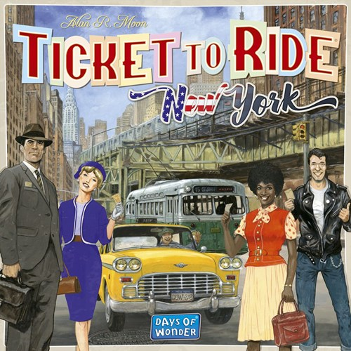 Ticket To Ride Board Game: New York