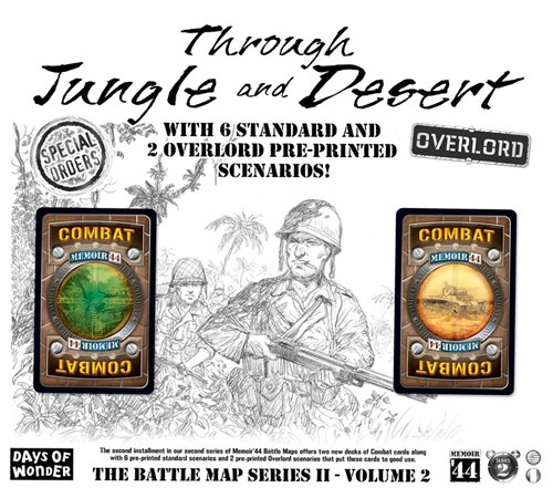 Memoir '44: Battle Map 2: Through Jungle And Desert