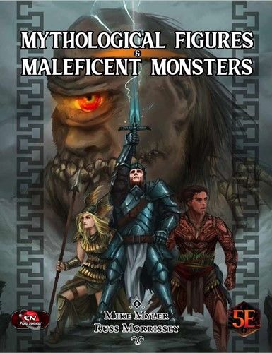Dungeons And Dragons RPG: Mythological Figures And Maleficent Monsters