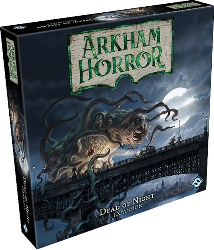 Arkham Horror Board Game: 3rd Edition: The Dead Of Night Expansion