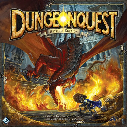 dungeon quest board game revised edition