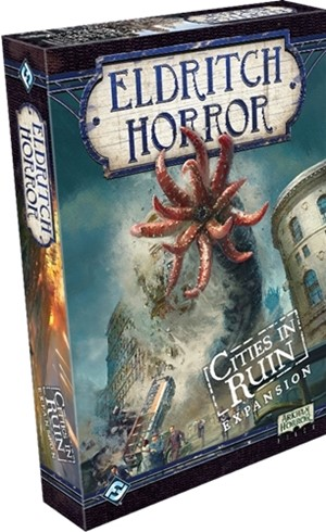 Eldritch Horror Board Game: Cities In Ruin Expansion