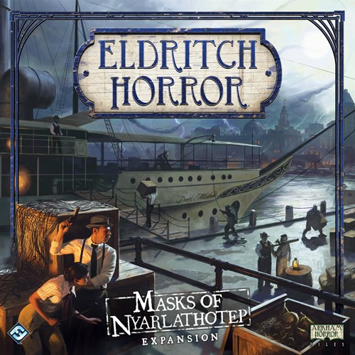 Eldritch Horror Board Game: Masks Of Nyarlathotep Expansion