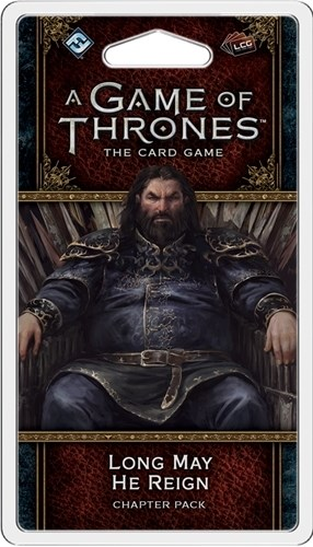 A Game Of Thrones LCG Second Edition: Long May He Reign Chapter Pack