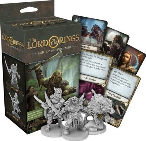 The Lord Of The Rings: Journeys In Middle-Earth Board Game: Villains Of Eriador Figure Pack