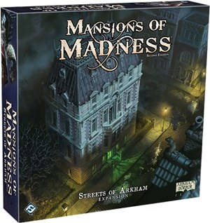 Mansions Of Madness Board Game: Streets Of Arkham Expansion