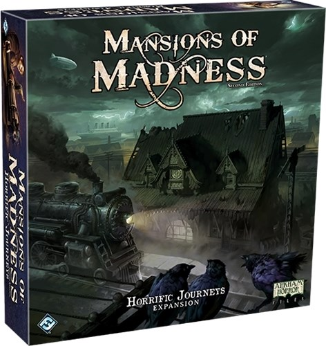 Mansions Of Madness Board Game: Horrific Journeys Expansion