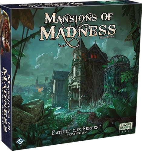 Mansions Of Madness Board Game: Path Of The Serpent Expansion