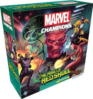 Marvel Champions LCG: The Rise Of Red Skull Campaign Expansion