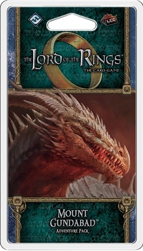 The Lord Of The Rings LCG: Mount Gundabad Adventure Pack