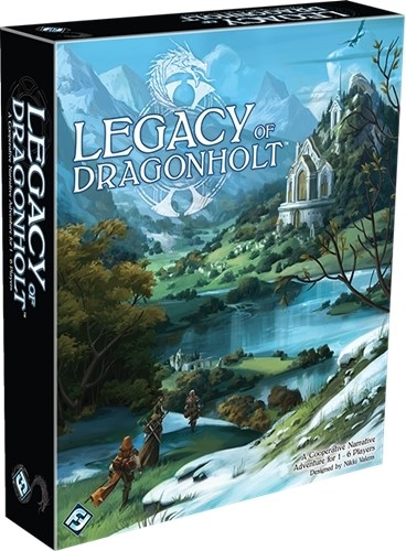 Legacy Of Dragonholt Board Game