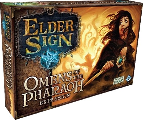 Elder Sign Dice Game: Omens Of The Pharaoh Expansion
