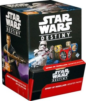 Star Wars Destiny Dice Game: Spirit Of Rebellion Booster Display