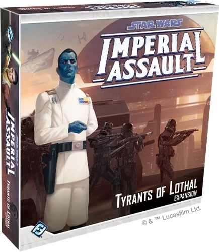 Star Wars Imperial Assault: Tyrants Of Lothal Campaign Expansion