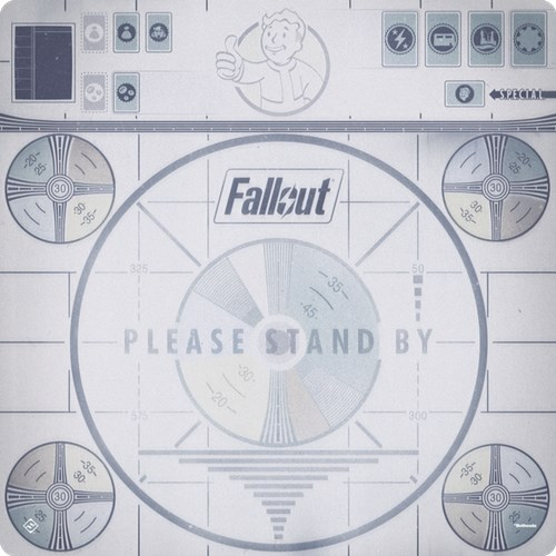 Fallout Board Game: Please Stand By Gamemat