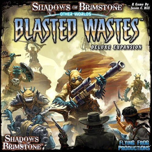 Shadows Of Brimstone Board Game: Blasted Wastes Deluxe OtherWorld Expansion