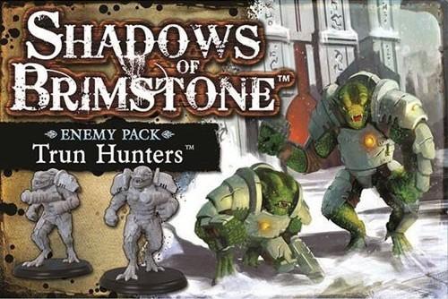 Shadows Of Brimstone Board Game: Trederran Raiders Enemy Pack