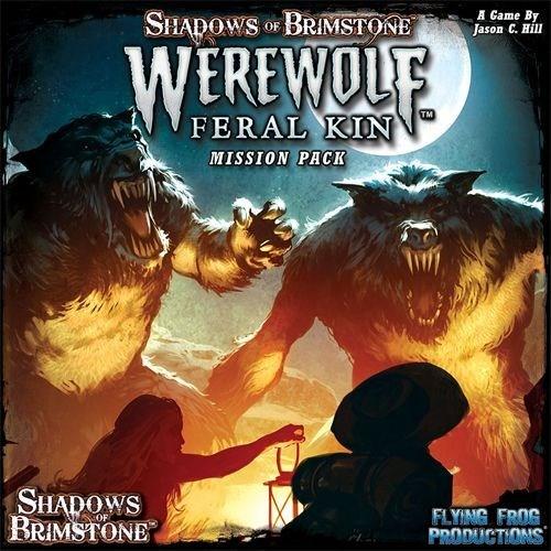 Shadows Of Brimstone Board Game: Werewolf Feral Kin Mission Pack