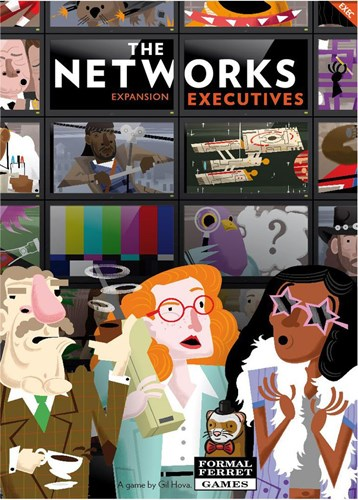 The Networks Board Game: Executives Expansion