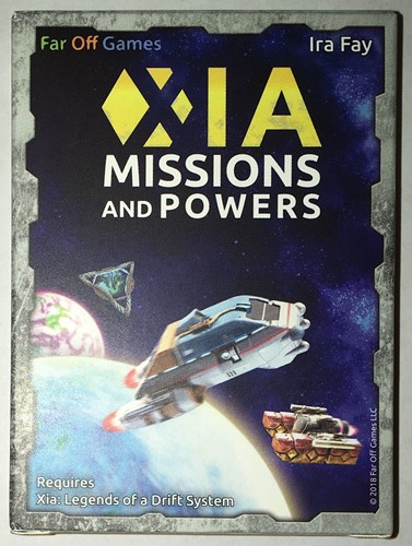 Xia: Legend Of A Drift System Board Game: Missions And Powers Expansion
