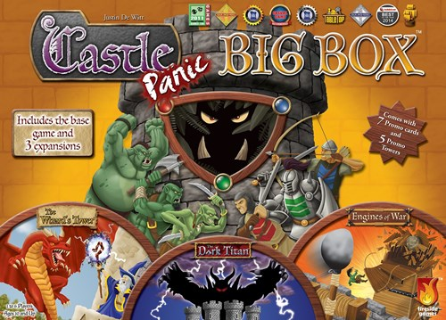 Castle Panic Board Game: Big Box Edition