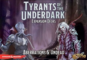 Dungeons And Dragons Board Game: Tyrants Of The Underdark: Aberrations And Undead Expansion