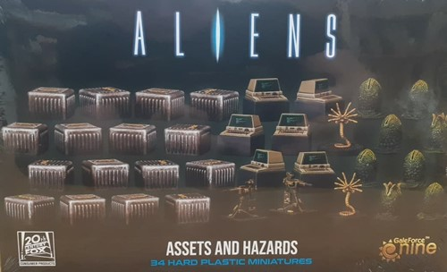 Aliens Board Game: 3D Gaming Set