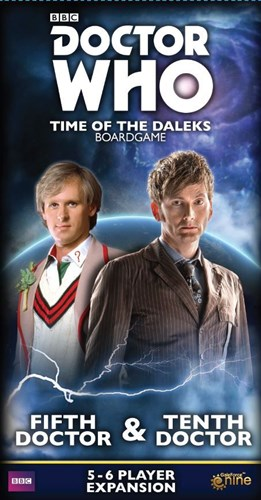 Doctor Who: Time Of The Daleks Board Game: Fifth Doctor And Tenth Doctor Expansion