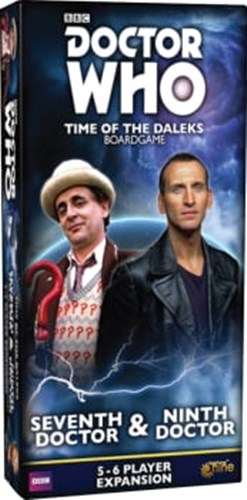 Doctor Who: Time Of The Daleks Board Game: Seventh Doctor And Ninth Doctor Expansion