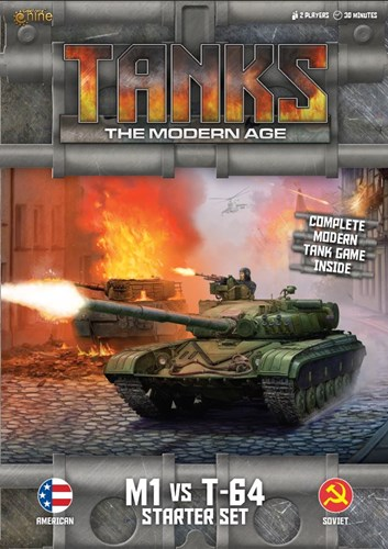 Tanks Skirmish Game: The Modern Age Starter Set: M1 vs T-64
