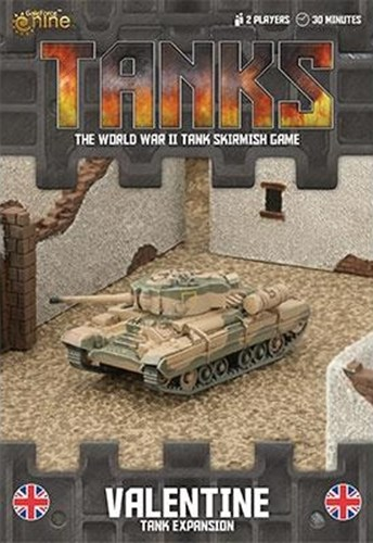 Tanks Skirmish Game: British Valentine Expansion