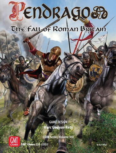 Pendragon Board Game: The Fall Of Roman Britain