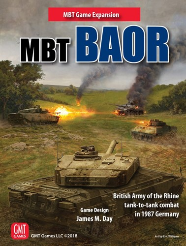 MBT Board Game: BAOR Expansion