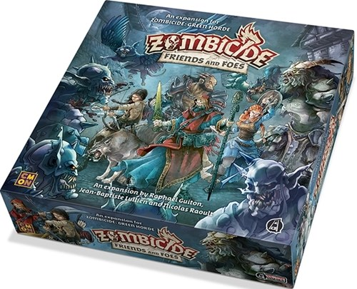 Zombicide Board Game: Green Horde Friends And Foes Expansion