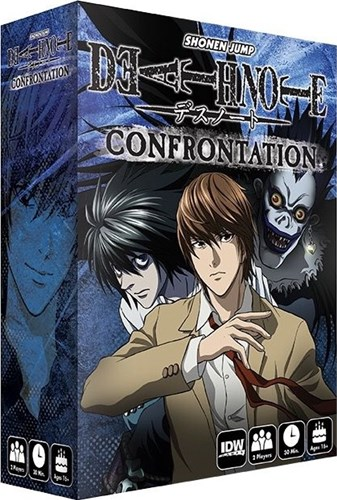 Death Note Confrontation Card Game